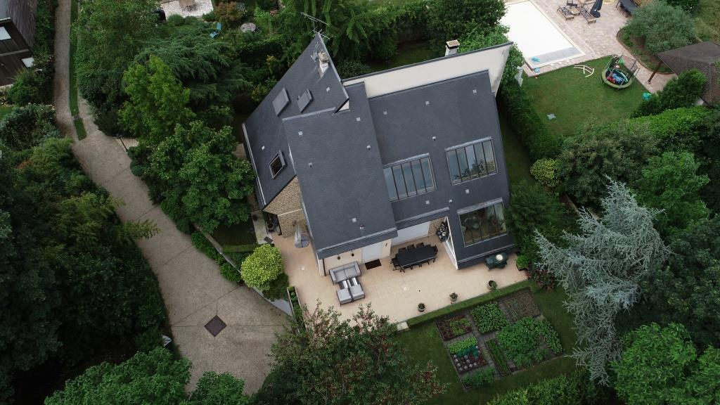 Exemple de photo d'un bien immobilier par drone